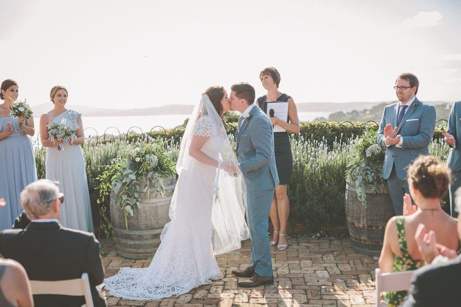 Photography: Coralee Estelle - www.coraleeandalex.com Wedding Dress: Rue De Seine - www.ruedeseine.com Bridesmaids Dresses: Dessy - dessy.com   Read More on SMP: http://stylemepretty.com/vault/gallery/20198