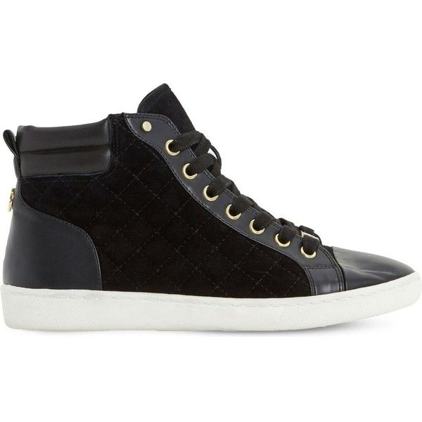 dune high top trainers