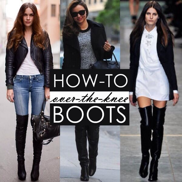 Trending: How To Wear Tall, Over-the-Knee Boots | The InfluenceHer ...