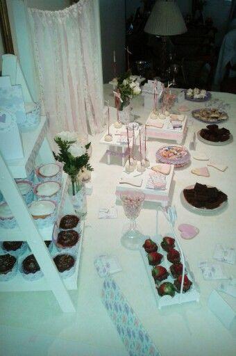 Tea Party - Shabby Chic en tonos pasteles