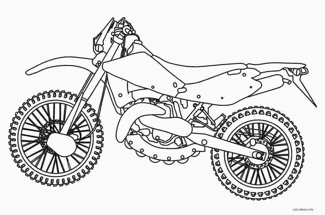Printable Motorcycle Coloring Pages Coloring Pages Emoji
