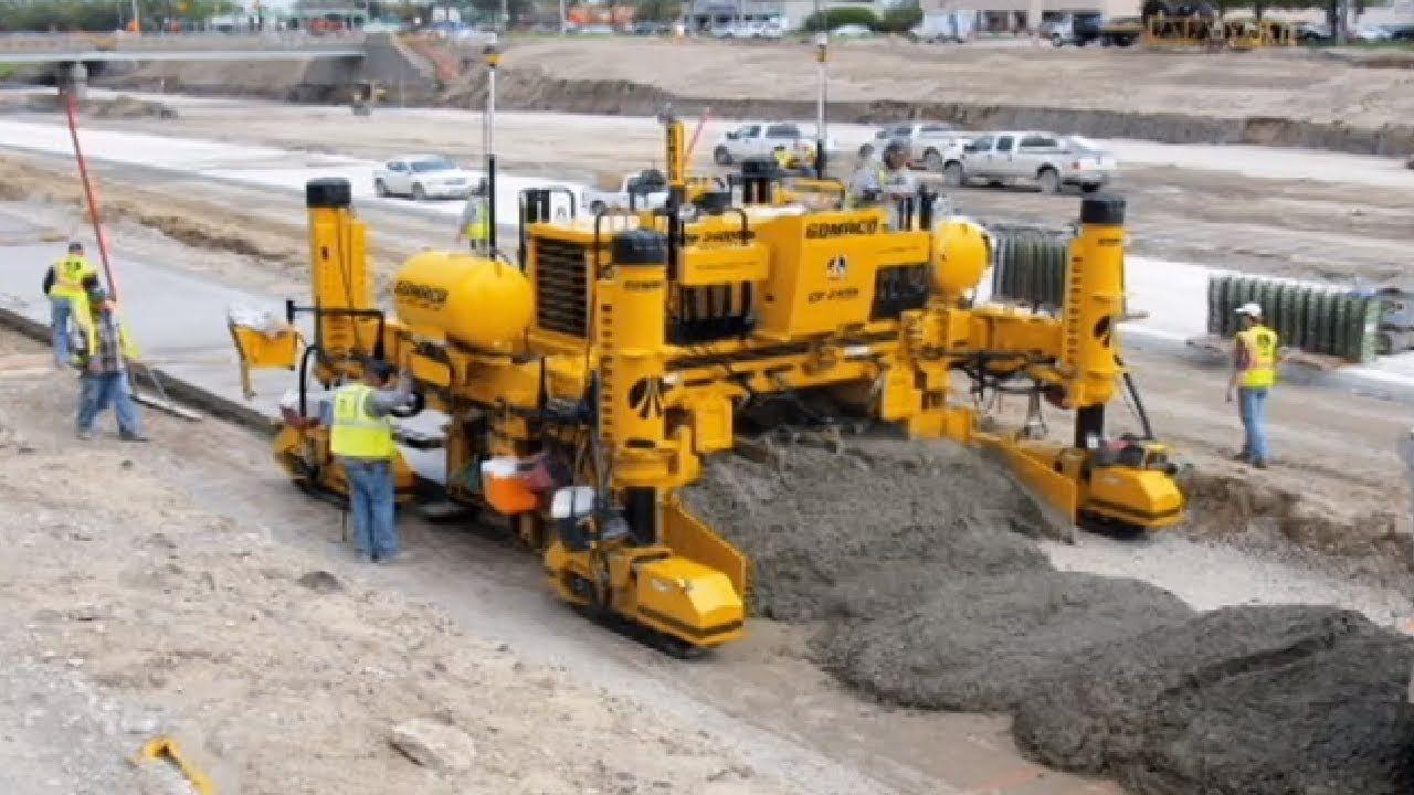 Amazing Modern Technology Road Construction Machines