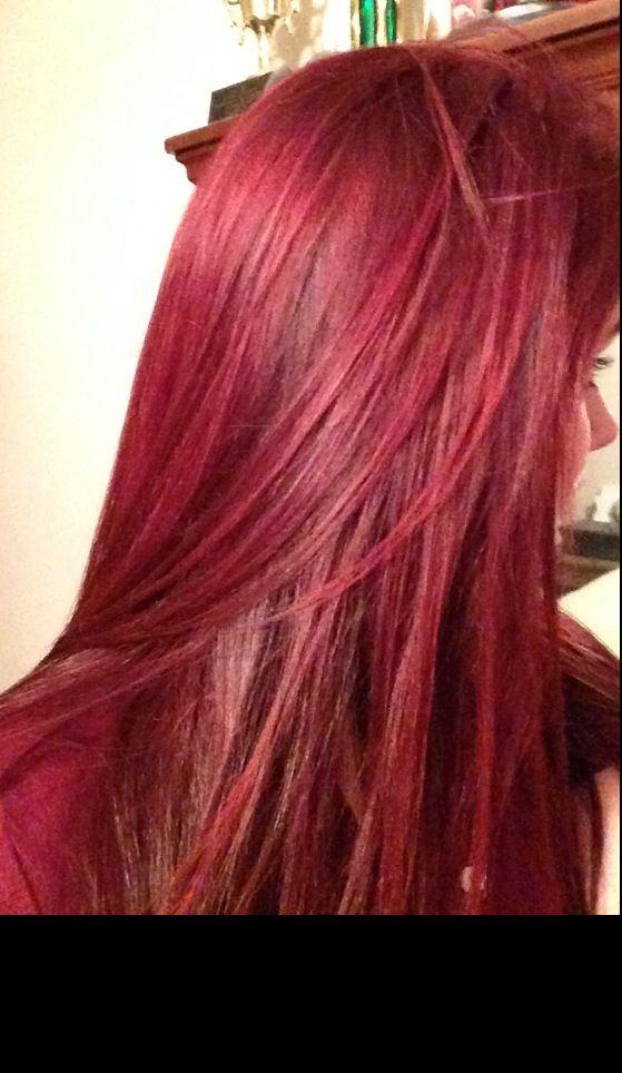 Love love love my red hair.
