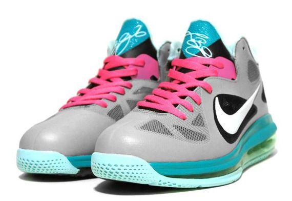 Nike LeBron 9 Low  Miami Vice  Customs By C2 - SneakerNews.com  759fc7c3e