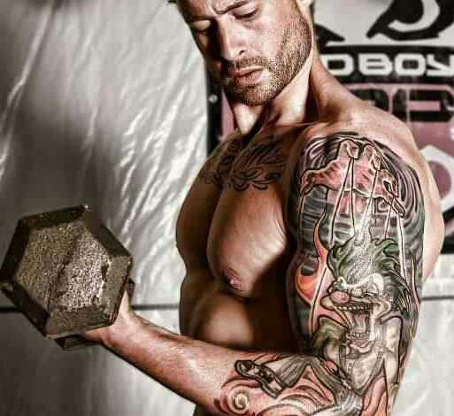 Tatted and Shredded founder and C.E.O...Philip Mayberry