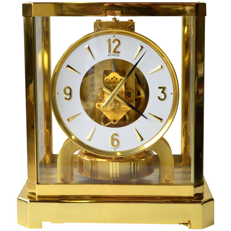 c7a17204b8d Jaeger-LeCoultre Atmos Perpetual Motion Mantle Clock