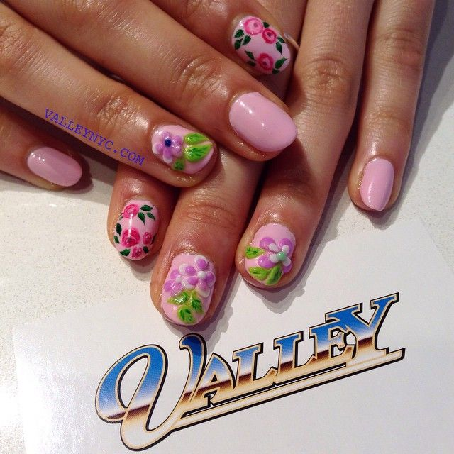 Valley Nails – Lower East Side, NYC #nyc #nycnails #nails #nailart ...