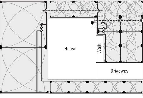 Even If You Can T Draw A Straight Line You Have To Make A Map Of Your Property To Plan Your Irrigat Irrigation System Diy Sprinkler System Diy Lawn Irrigation