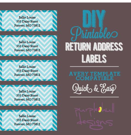 Top 25 ideas about Return Address Labels on Pinterest ...