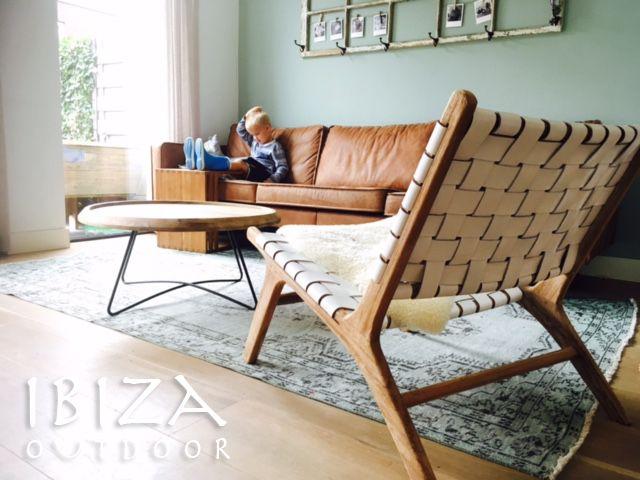 Lounge Stoel Wit.Leuke Foto Ontvangen Met De Vintage Lounge Stoel Met Wit Leer En De