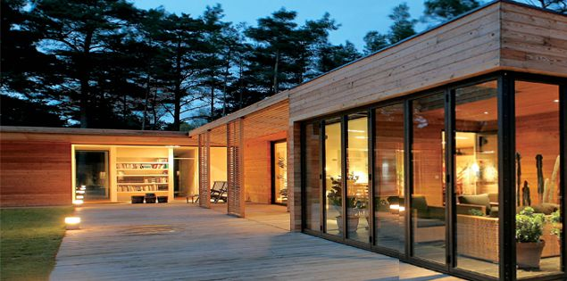 Best Maison En Bois Moderne Images  Design Trends   ShopmakersUs