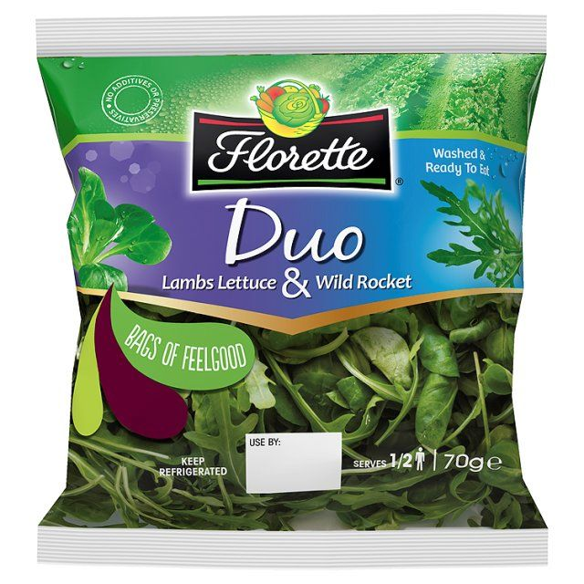 bag+lettuce | Ocado: Florette Duo Lambs Lettuce & Wild Rocket (Product Information)