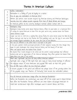 U History Theme In American Culture Essay On