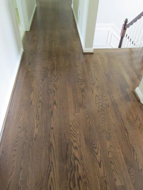 The Process Of Refinishing Hardwood Floors Before And After