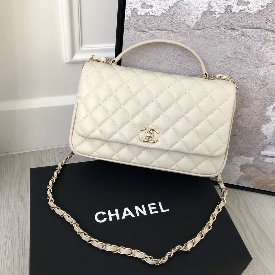 25a754c92773 Chanel Citizen Chic Small Flap in White Lambskin | Women's Fashion ...
