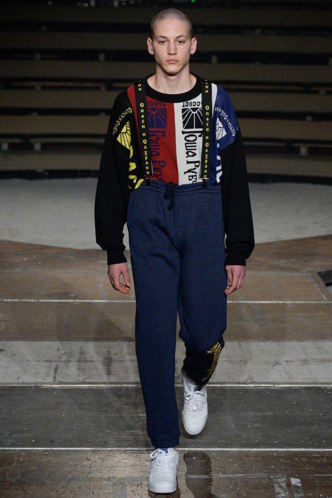 Gosha Rubchinskiy Fw16 Menswear 2016 Menswear Fashion