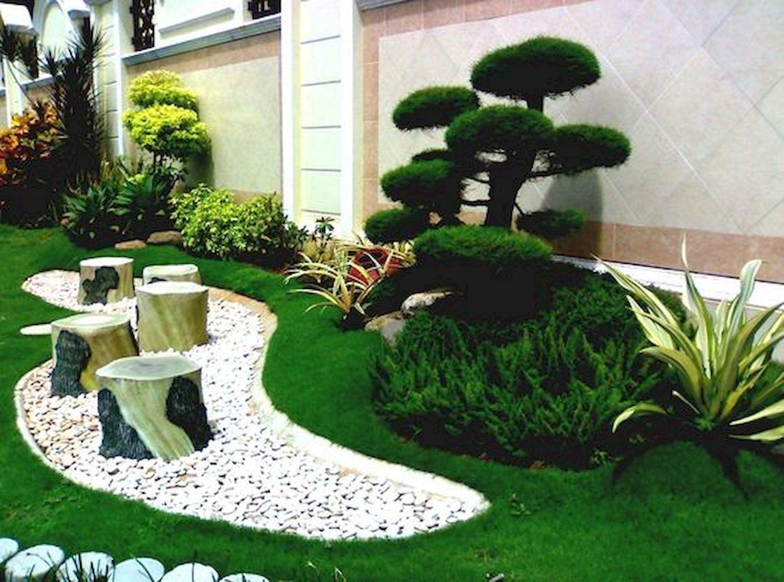 Pin By Mandy P On Gardening Backyard Landscaping Designs Home Landscaping Backyard Landscaping