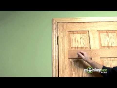 3 Quick Fixes For A Door That Won T Stay Closed Youtube