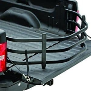 AMP Research Black BedXTender Jeep Gladiator Truck Bed