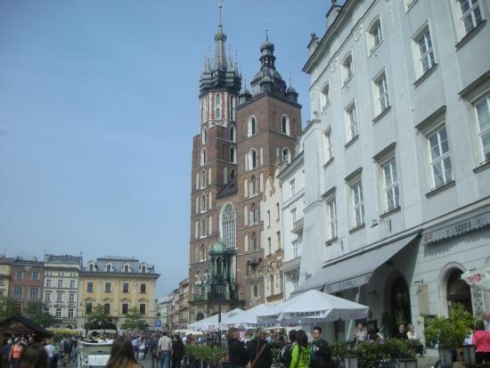 Main Market Square  Krakow  Krakow  Pinterest  Krakow Poland