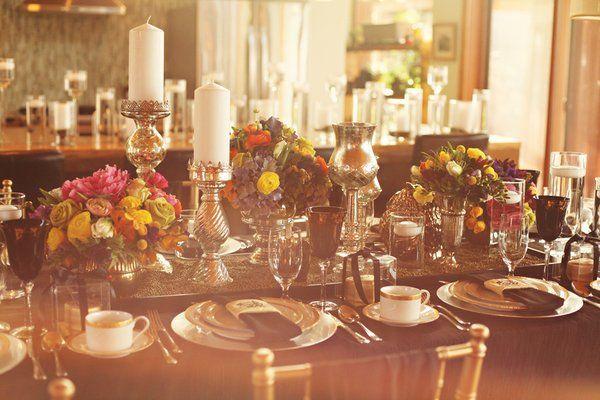 stunning table decor | vintage bohemian wedding.