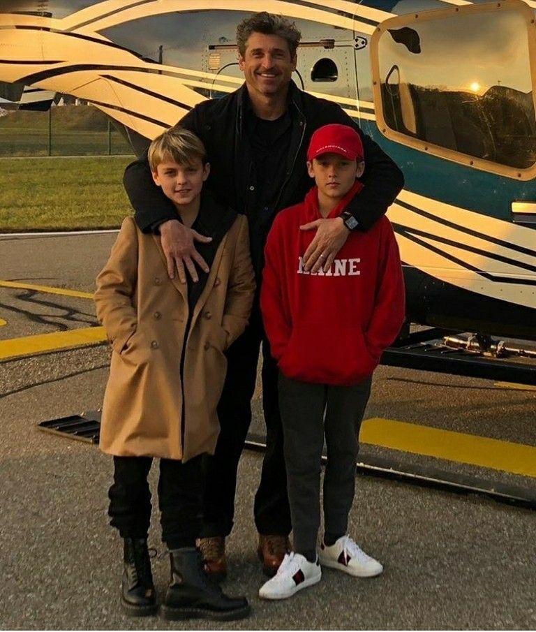 Patrick Dempsey At Patrickdempsey On Instagram Happy Birthday Boys