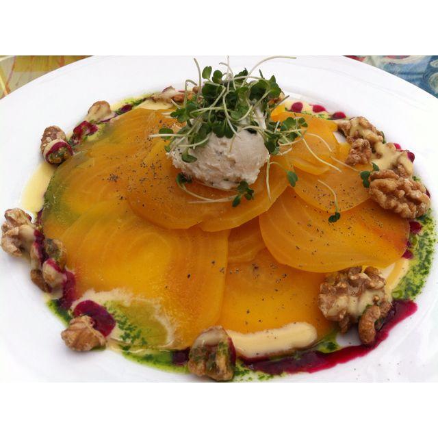 The perfect beet salad at Geoffrey's Malibu.