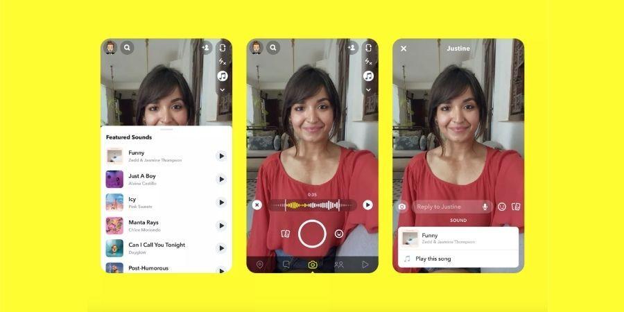 Snapchat To Bring Tiktok Style Music Snaps Popular Social Media Apps Music Social Media Apps