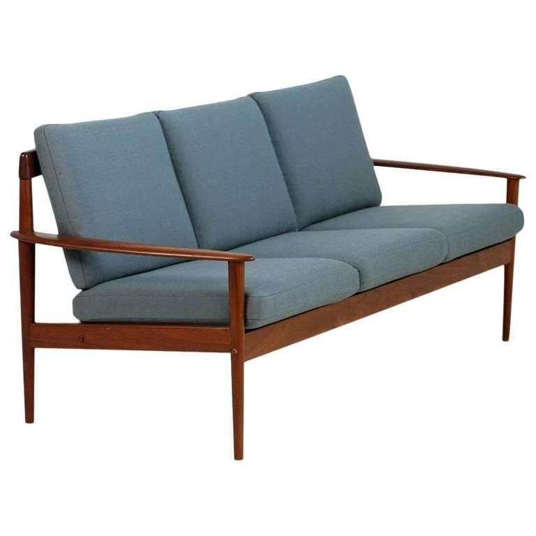 1950s Grete Jalk Teak Sofa