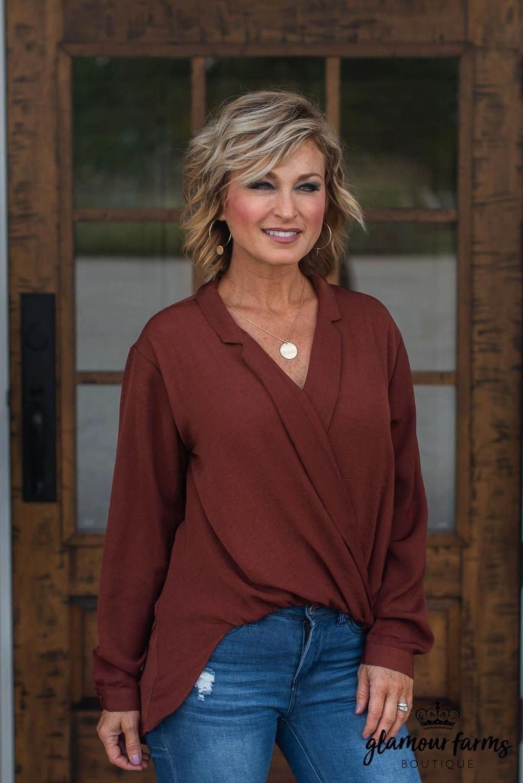 Awesome 49 Rustic Fall Outfit Ideas For Women Over 40