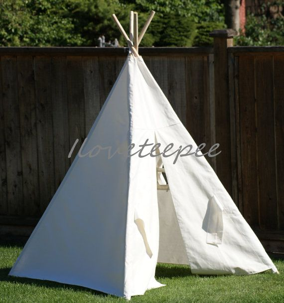 Natural Pom Pom Teepee Package( Includes: Teepee With