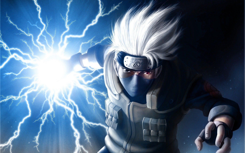 best kakashi lightning blade fan art I've seen I did not