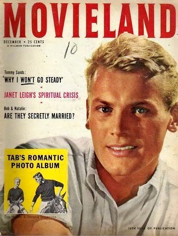 Tab Hunter | Tab hunter, Movie covers, Vintage movie stars