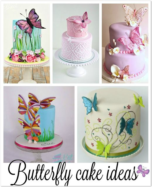 It S Friday I M In Love With Images Butterfly Birthday Cakes