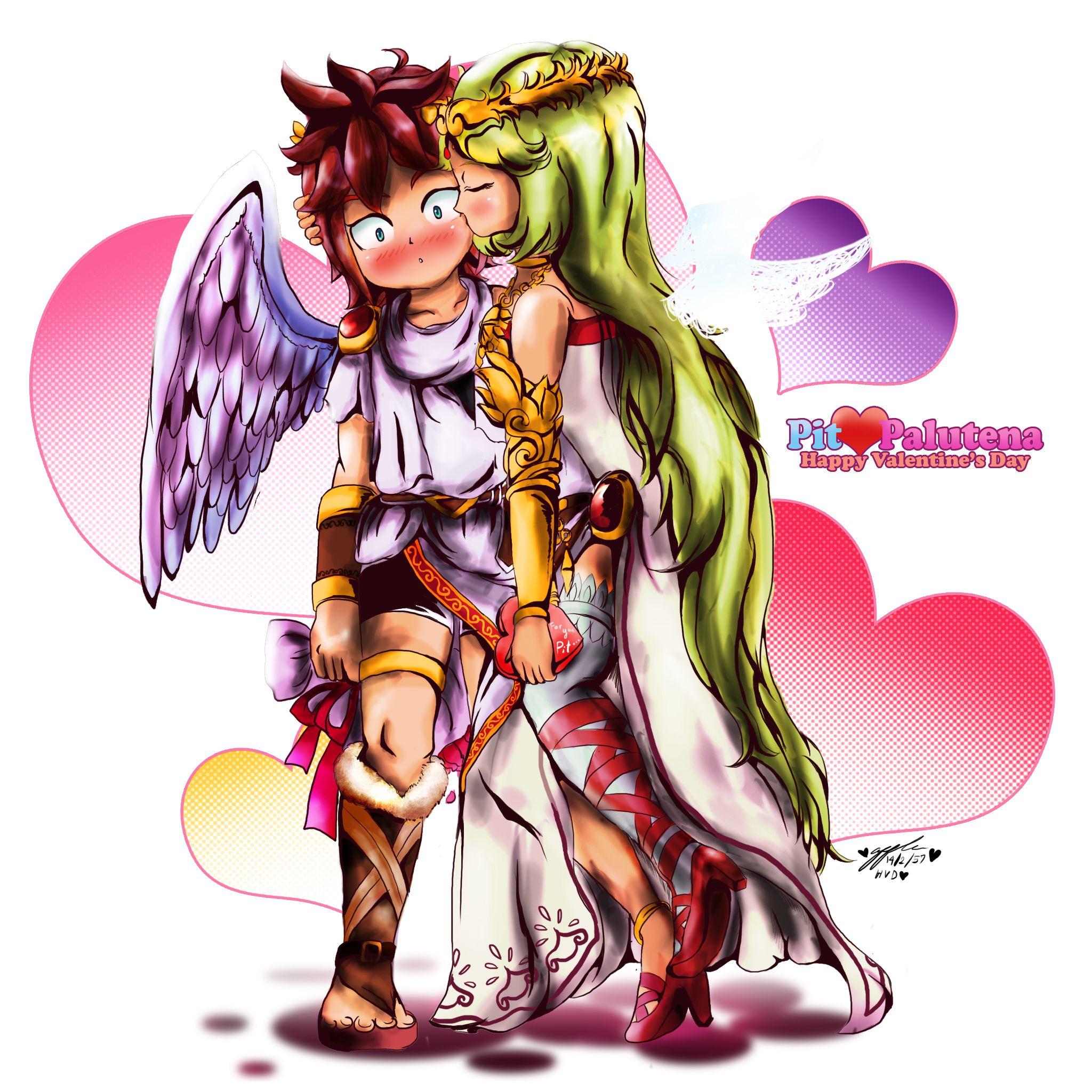 kid icarus valentine | Happy Valentine. (Kid Icarus ...