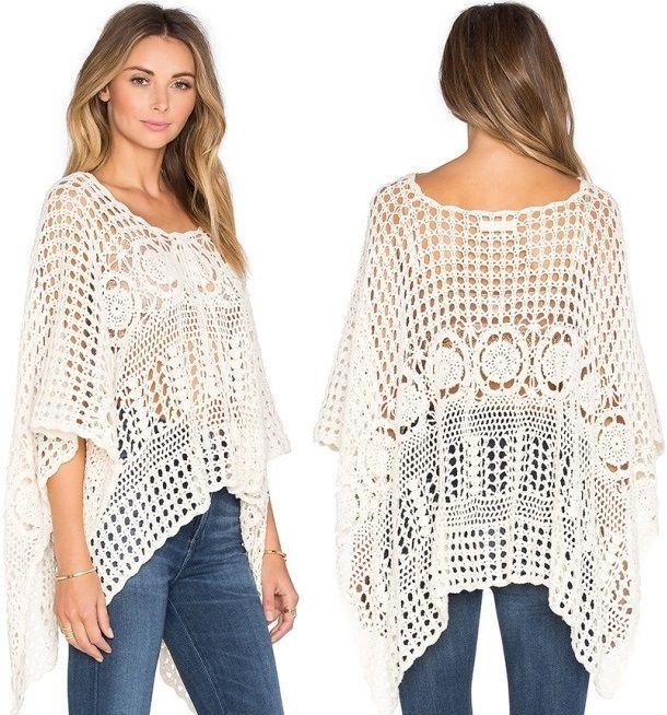 Perfect crochet pattern for making a skirt. Crochet pattern for ...