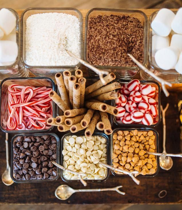How to Create a Hot Chocolate Bar for Your Wedding #hotchocolatebar How to Create a Hot #chocolate Bar for Your Wedding, or any other occasion for that matter. #hotchocolatebar
