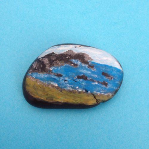 The-Bay-Hand-Painted-Pebble-Miniature-Landscape-Seascape-Meditation-Stone