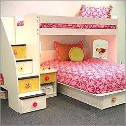 Best Bedrooms For Girls Ever Girls Bunk Beds Tween Girl Bedroom Bunk Beds With Stairs