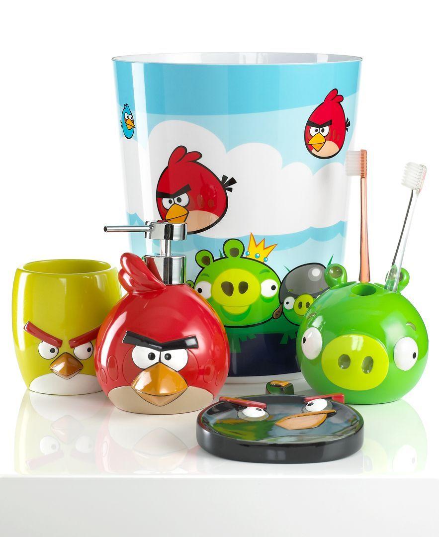 jay franco bath accessories angry birds burst toothbrush holder rh pinterest com
