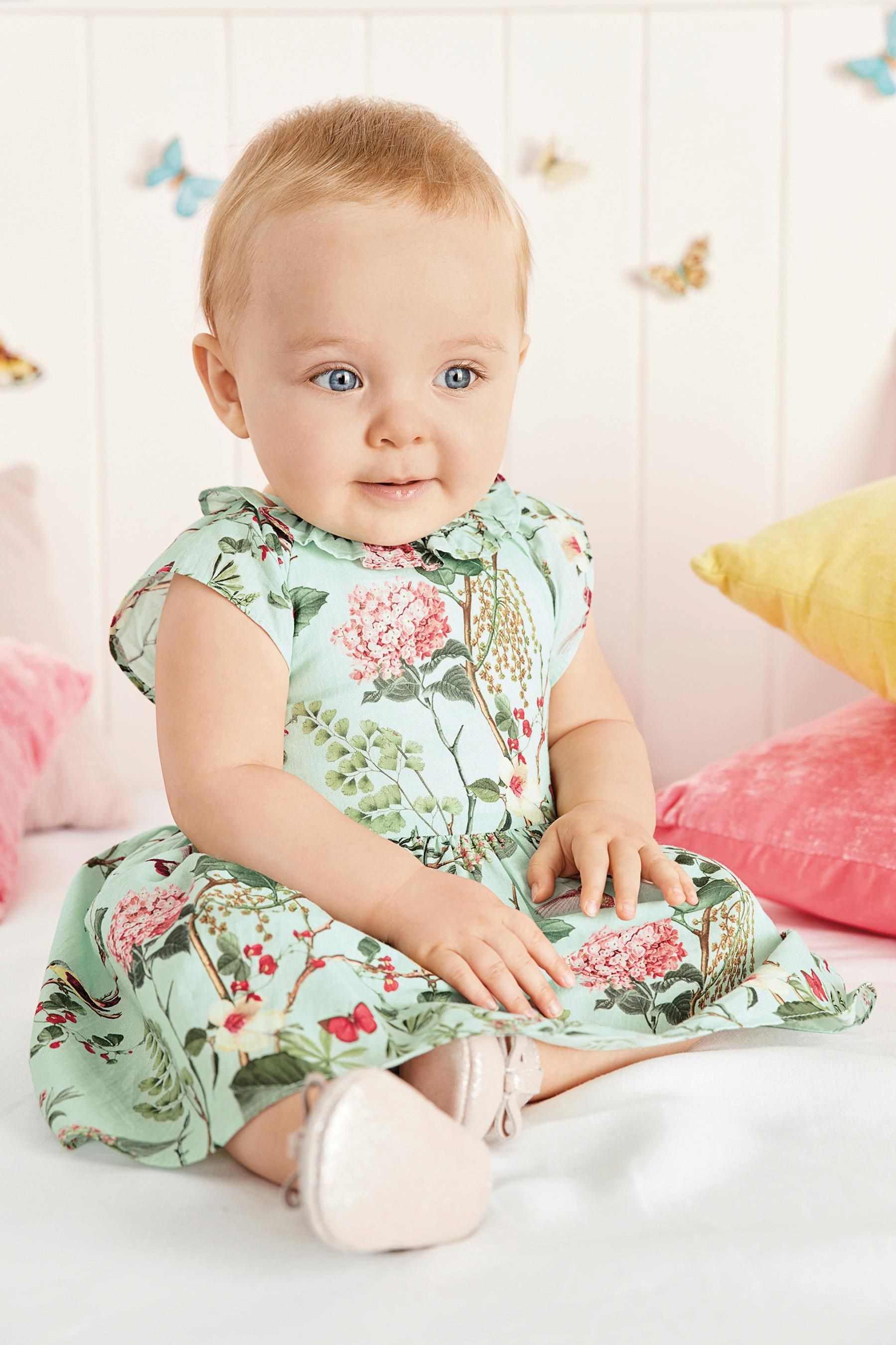 f493f6c607e7 Buy Mint Printed Prom Dress (0mths-2yrs) from the Next UK online ...