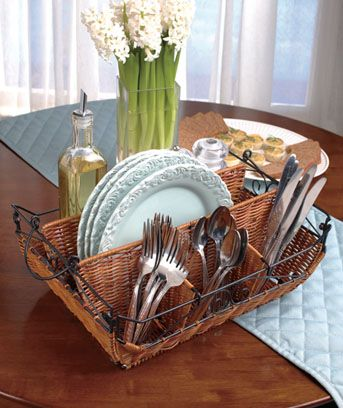 Picnics Homemaking Dining Table In Kitchen Caddy