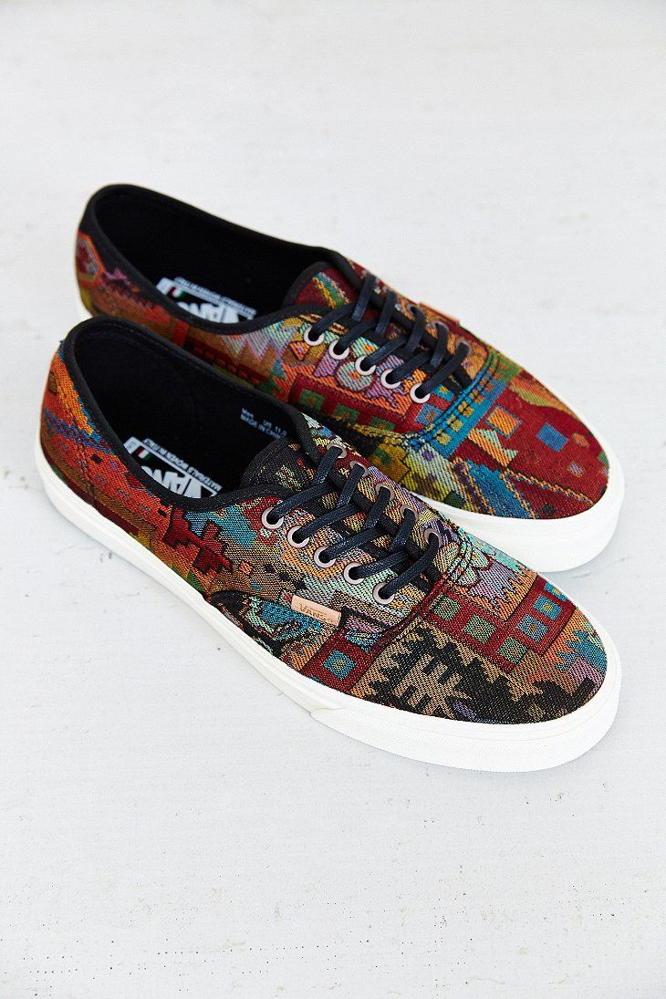 25459f6d56 Vans Authentic California Italia Weave Men s Sneaker - Urban Outfitters