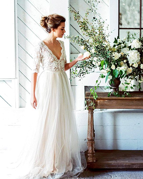 24 Bridal Inspiration: Country Style Wedding Dresses | Pinterest ...