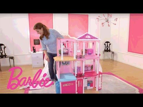 Barbie Dreamhouse Step By Step Assembly Video Barbie Youtube