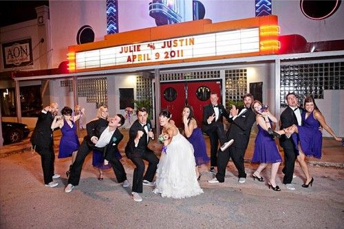 Theater Geek Wedding With Buddy Holly Style