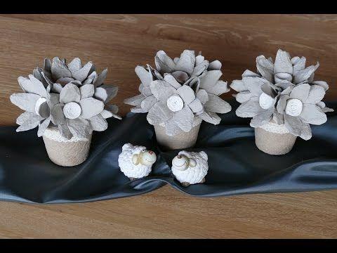 blumen einfach basteln flowers easy to make aus. Black Bedroom Furniture Sets. Home Design Ideas