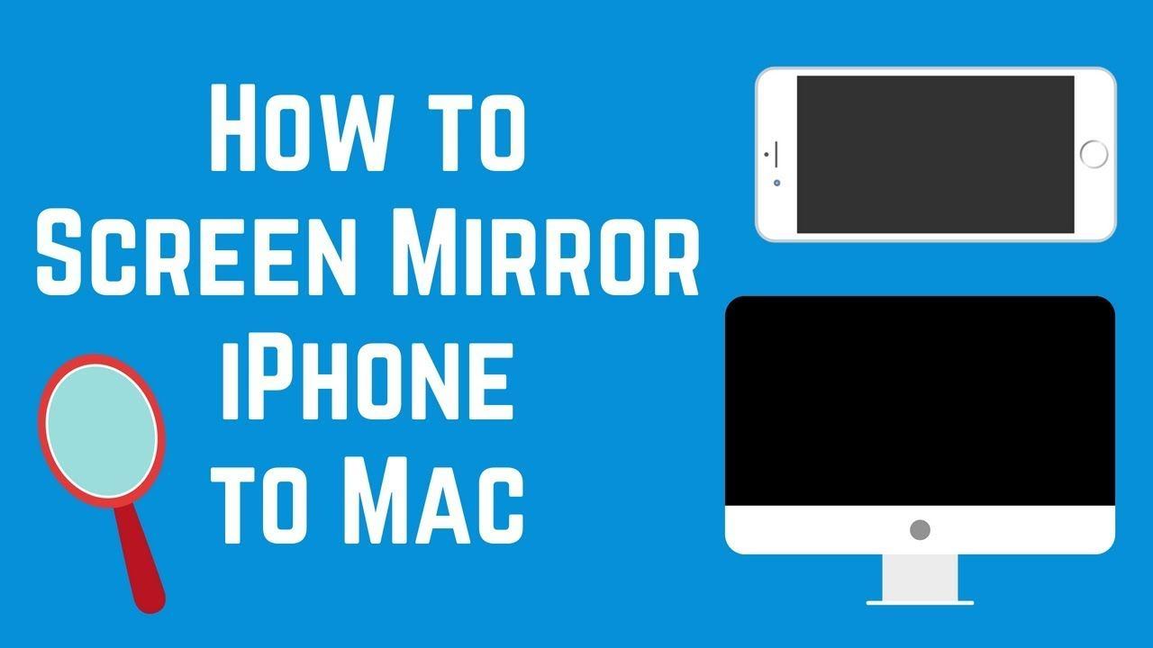 How To Mirror iPhone Screen to Mac Free and Easy 2018
