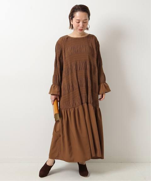 just シャーリングドレス spick and span スピック スパン 公式のファッション通販 20040210001630 baycrew s store シャーリングドレス ドレス ワンピース