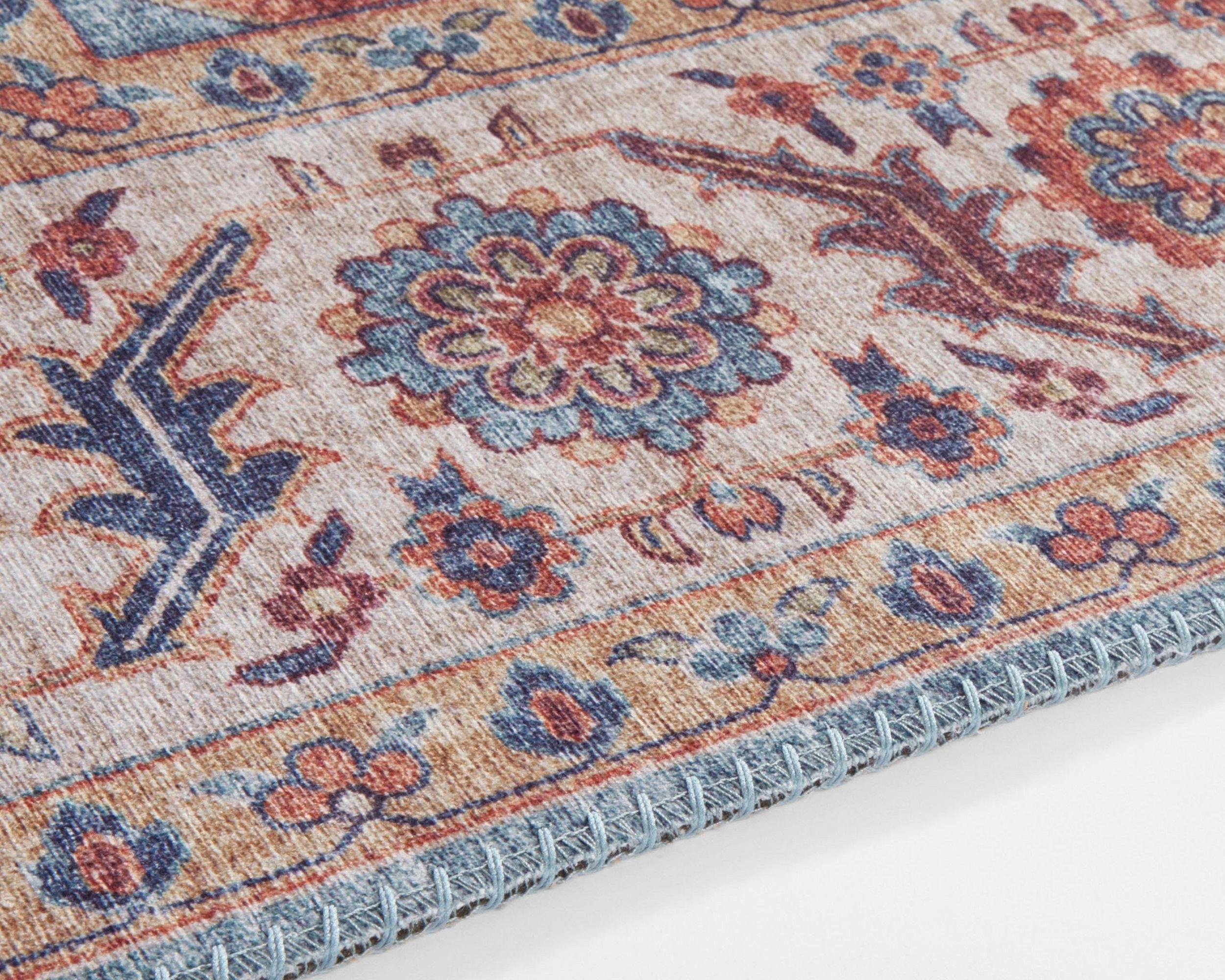 Teppich Anthea Nouristan Rechteckig Höhe 5 Mm Vintage Design Orient Optik Wohnzimmer Online Kaufen Otto Teppich Orient Vintage